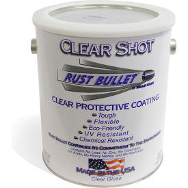 Rust Bullet Clear Shot Coating Gallon Can 4/Case - CSG-C4
