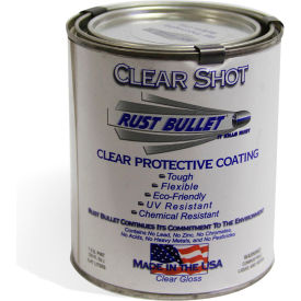 Rust Bullet Clear Shot Coating Pint Can 40/Case - CSP-C40