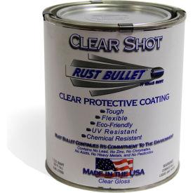 Rust Bullet Clear Shot Coating Quart Can 24/Case - CSQ-C24