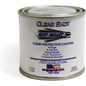 Rust Bullet Clear Shot Coating 1/4 Pint Can 24/Case - CSQP-C24
