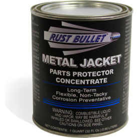Rust Bullet Metal Jacket Coating Quart Can 24/Case - MJQ-C24