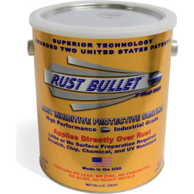 Rust Bullet Standard Formula Rust Inhibitive Coating Gallon Can 4/Case - RB14-C4