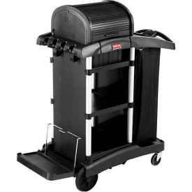 Rubbermaid® Executive High Security Janitorial Cleaning Cart 1861427