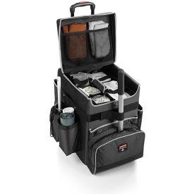 Rubbermaid® Medium Executive Quick Cart 1902466 - Dark Gray