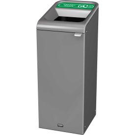 Rubbermaid 15 Gallon Configure Decorative Waste Container, Organic Waste Lid - 1961620