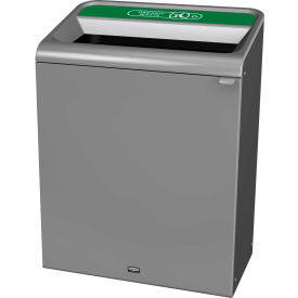 Rubbermaid 45 Gallon Configure Decorative Waste Container, Organic Waste Lid - 1961683