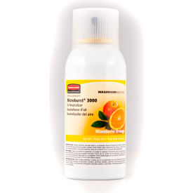 Rubbermaid® Microburst 3000 Aerosol Refill - Mandarin Orange - FG402408 - Pkg Qty 12