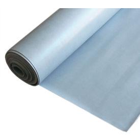 "Rubber-Cal ""SBR - Gray"" 65A Rubber Sheet, 1/4THK x 36""W x 48""L"