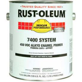 Rust-Oleum V7400 Series <450 VOC DTM Alkyd Enamel Primer, HD Rust Inhibitive Red 5 Gal Pail- 1069300