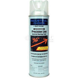 Rust-Oleum M1800 System Water-Based Precision-Line Inverted Marking Paint Aerosol, Clear