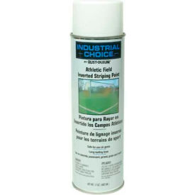 Rust-Oleum Af1600 System Athletic Field Inverted Striping Paint Aerosol, White - Pkg Qty 12