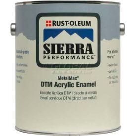Rust-Oleum Sierra Perf Metalmax 0 VOC DTM Acrylic Enamel, Semi-Gloss WH Pastel Base Gal Can - 208031 - Pkg Qty 2
