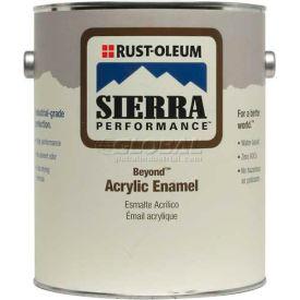 Rust-Oleum Sierra Performance Beyond 0 VOC Acrylic Enamel, Gloss Deep Base Gallon Can - 208054 - Pkg Qty 2