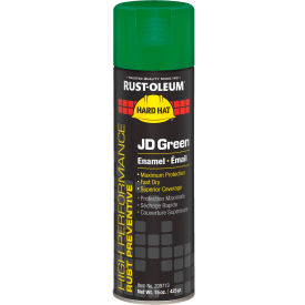 Rust-Oleum High Performance V2100 System Equipment Aerosol, John Deere Green, 15 oz. - 209713 - Pkg Qty 6
