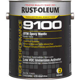 Rust-Oleum 9100 Low VOC Immersion Activator (<250 G/L), Gallon Can - 214430 - Pkg Qty 2