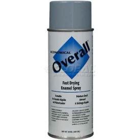 Rust-Oleum Overall Economical Enamel Aerosol, Light Gray 16 oz. Aerosol Can - 215409 - Pkg Qty 6