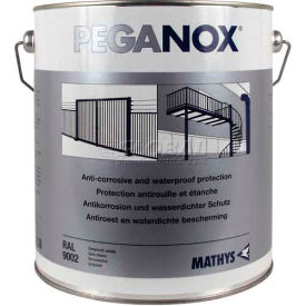 Rust-Oleum Peganox&#174; <25 VOC Brushable Elastomeric Acrylic, Peganox Green Gray Gal Can - 225323 - Pkg Qty 2