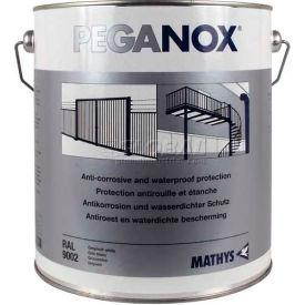 Rust-Oleum Peganox&#174; <25 VOC Brushable Elastomeric Acrylic, Peganox Black Gallon Can - 225324 - Pkg Qty 2