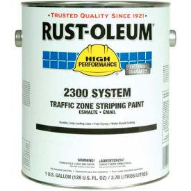 Rust-Oleum 2300 System <100 Voc Traffic Zone Striping Paint, Blue, 1 Gallon - Pkg Qty 2