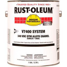 Rust-Oleum V7400 Series <340 VOC DTM Alkyd Enamel, HD Aluminum Gallon Can - 245402 - Pkg Qty 2