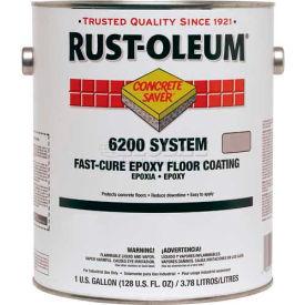Rust-Oleum 6200 System <250 VOC Fast-Cure Epoxy Floor Coating, Silver Gallon Kit - 251763