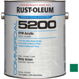 Rust-Oleum 5200 System < 250 VOC DTM Acrylic, Vista Green Gallon Can - 5235402 - Pkg Qty 2