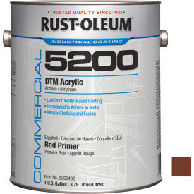 Rust-Oleum 5200 System < 250 VOC DTM Acrylic, Red Primer Gallon Can - 5269402 - Pkg Qty 2