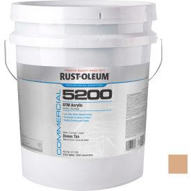 Rust-Oleum 5200 System < 250 VOC DTM Acrylic, Dunes Tan, 5 Gallon Pail - 5271300