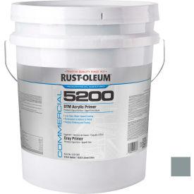 Rust-Oleum 5200 System < 250 VOC DTM Acrylic, Gray Primer 5 Gallon Pail - 5281300