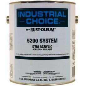 Rust-Oleum 5200 System < 250 VOC DTM Acrylic, Tower White, 5 Gallon Pail - 5291300