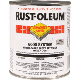 Rust-Oleum 6000 Concrete Saver <250 VOC Water-Based Epoxy Floor Coating, Activator Pint Can- 6001604 - Pkg Qty 4