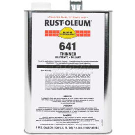 Rust-Oleum Thinner, Spray Application Gallon Can - 641402 - Pkg Qty 2