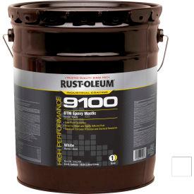 Rust-Oleum 9100 System <340VOC DTM Epoxy Mastic, White 5 Gallon Pail - 9192300