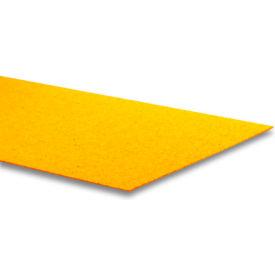 "GripAll ® LAVAGRIP® 12"" x 48"" Anti-Slip Adhesive Strip, Yellow - Pkg Qty 2"