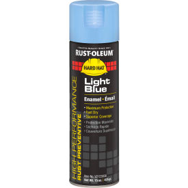 Rust-Oleum High Performance V2100 Rust Preventive Enamel Aerosol, Light Blue 20 oz. Can - V2123838 - Pkg Qty 6