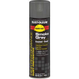 Rust-Oleum High Performance V2100 Rust Preventive Enamel Aerosol, Smoke Gray, 15 oz. - V2188838 - Pkg Qty 6