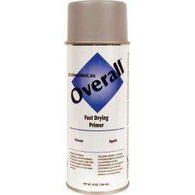 Rust-Oleum Overall Economical Enamel Aerosol, Sandable Gray Primer, 10 oz. - V2401830 - Pkg Qty 6