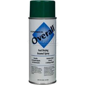Rust-Oleum Overall Economical Enamel Aerosol, Green 16 oz. Aerosol Can - V2410830 - Pkg Qty 6