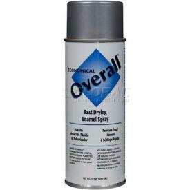 Rust-Oleum Overall Economical Enamel Aerosol, Aluminum 16 oz Can - V2412830 - Pkg Qty 6