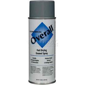 Rust-Oleum Overall Economical Enamel Aerosol, Machine Gray, 10 oz. - V2413830 - Pkg Qty 6