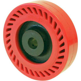 "RWM Casters 6"" x 2"" Omega Wheel with Roller Bearing for 1/2"" Axle UOR-0620-08 by"