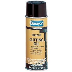 Sprayon LU208 Cutting Oil, 12 oz. Aerosol Can - SC0208000 - Pkg Qty 12