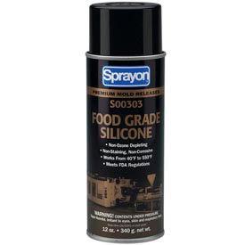 Sprayon MR303 Food Grade Release Agent, 12 oz. Aerosol Can - SC0303000 - Pkg Qty 12
