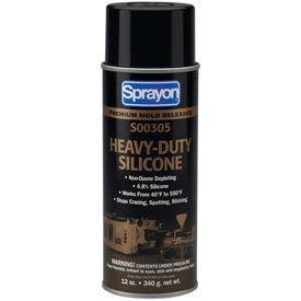Sprayon MR305 Heavy Duty Silicone Release Agent, 12 oz. Aerosol Can - s00305000 - Pkg Qty 12