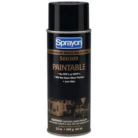 Sprayon MR309 Paintable Release Agent, 12 oz. Aerosol Can - s00309000 - Pkg Qty 12