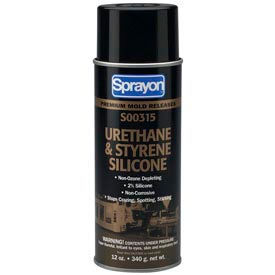 MR315 Urethane & Styrene Silicone Release Agent - 12 Oz. - s00315000 - Pkg Qty 12
