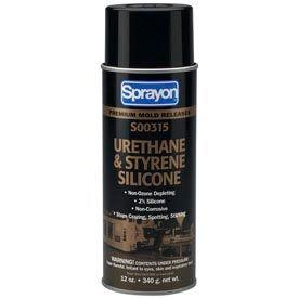 Sprayon MR315 Urethane & Styrene Silicone Release Agent, 12 oz. Aerosol Can - s00315000 - Pkg Qty 12