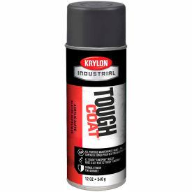 Krylon Industrial Tough Coat Acrylic Enamel Machinery Dk Gray (Asa-49) - A00325007 - Pkg Qty 12