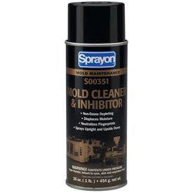 Sprayon MR351 Mold Cleaner, 16 oz. Aerosol Can - s00351000 - Pkg Qty 12