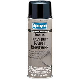 Sprayon SP915 Heavy Duty Paint Remover, 15 oz. Aerosol Can - SC0615000 - Pkg Qty 12